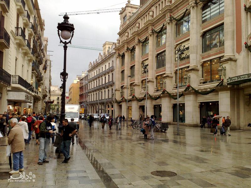 مرکز خرید بارسلونا