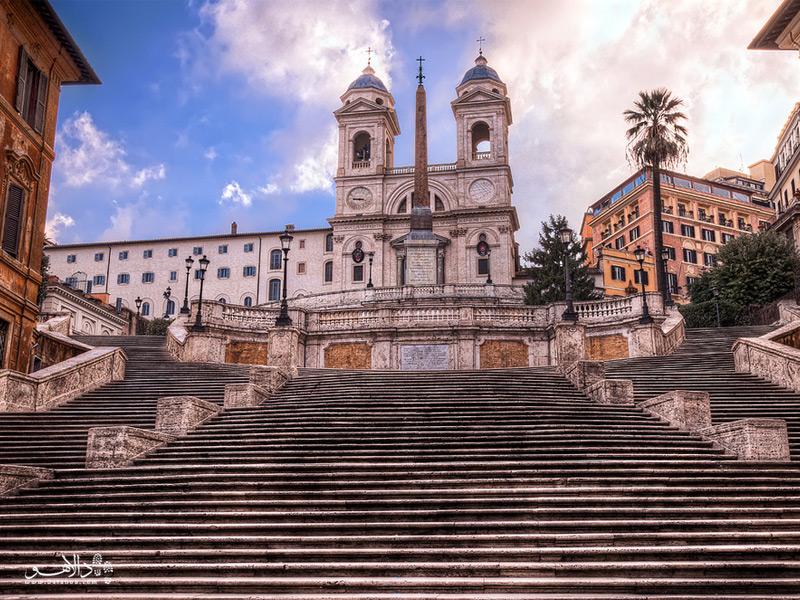 پلههای اسپانیایی