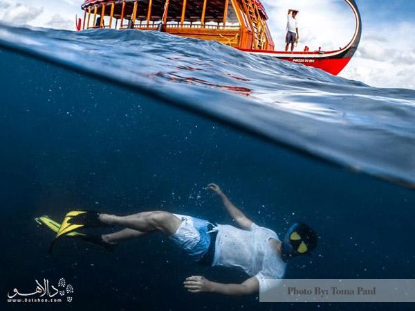 زیر آبهای اقیانوس