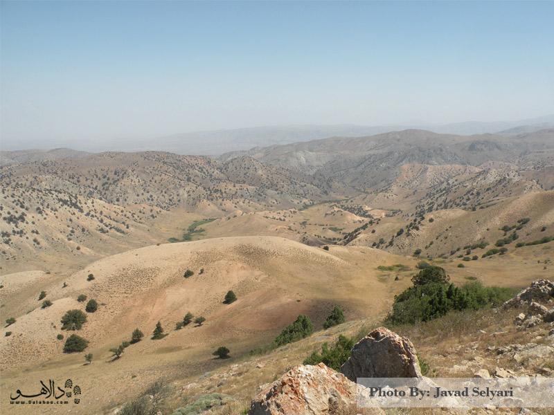 منطقه سولگرد و نمای زیبای پالای تپهها