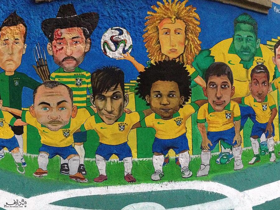 گرافیتی در ریو