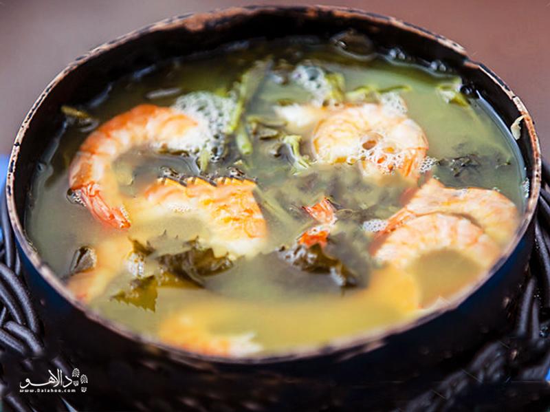 سوپ تکاکا را امتحان کنید تا هوش از سرتان برود!