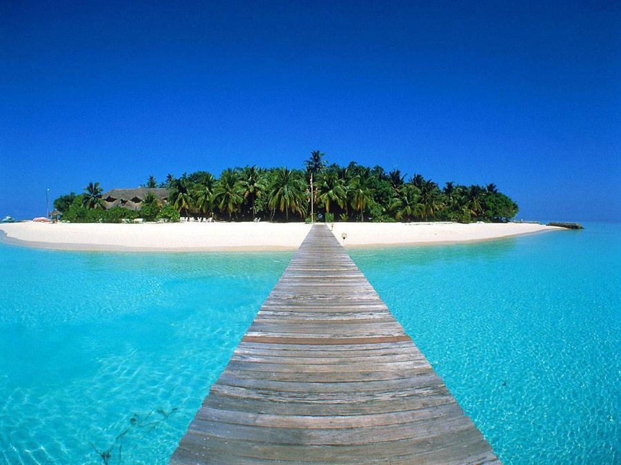 یکی از جزایر مالدیو