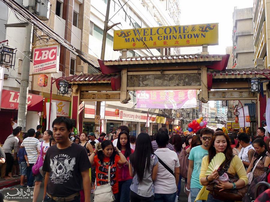 محله چینیهای مانیل