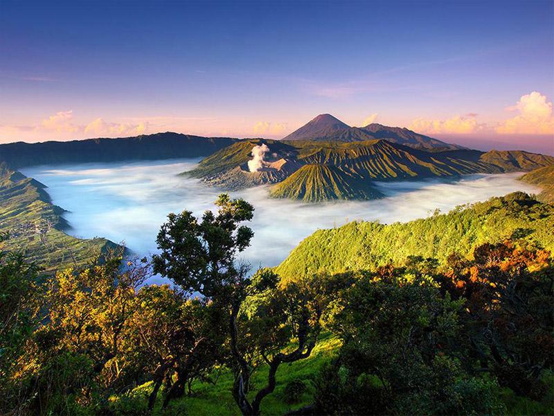 قله بورومو