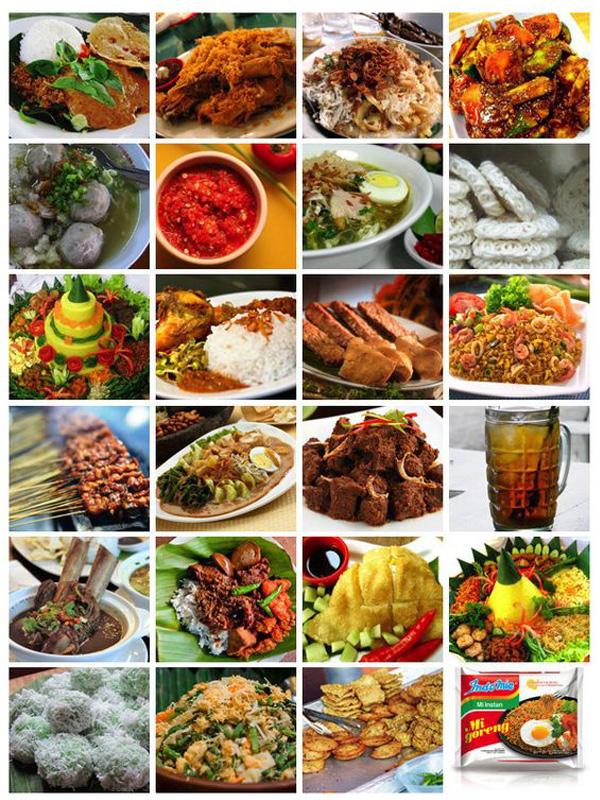 غذاهای اندونزی