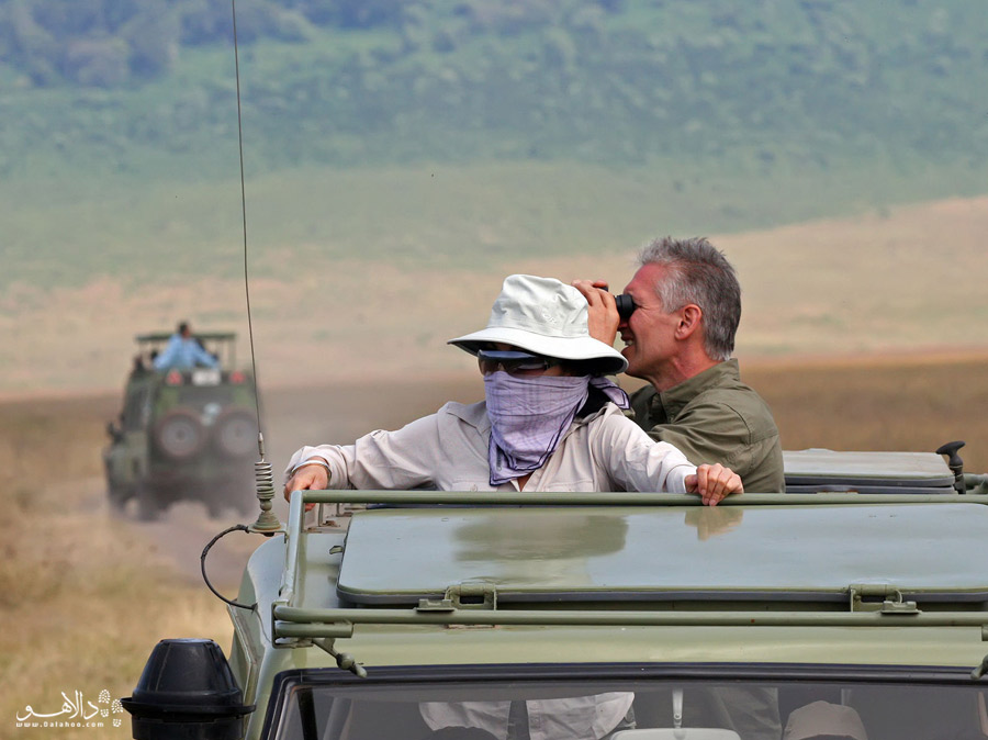 سافاری در تانزانیا