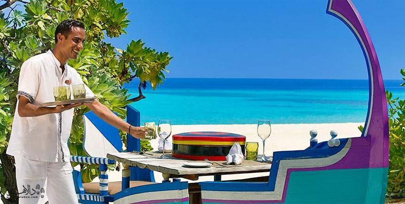پذیرایی در رزورتهای مالدیو