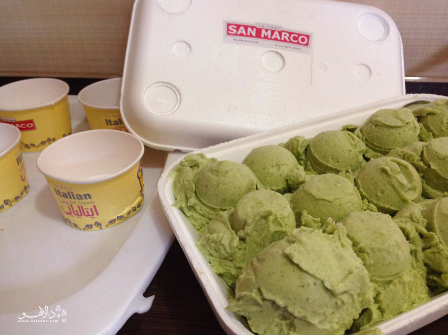 بستنی موهیتو