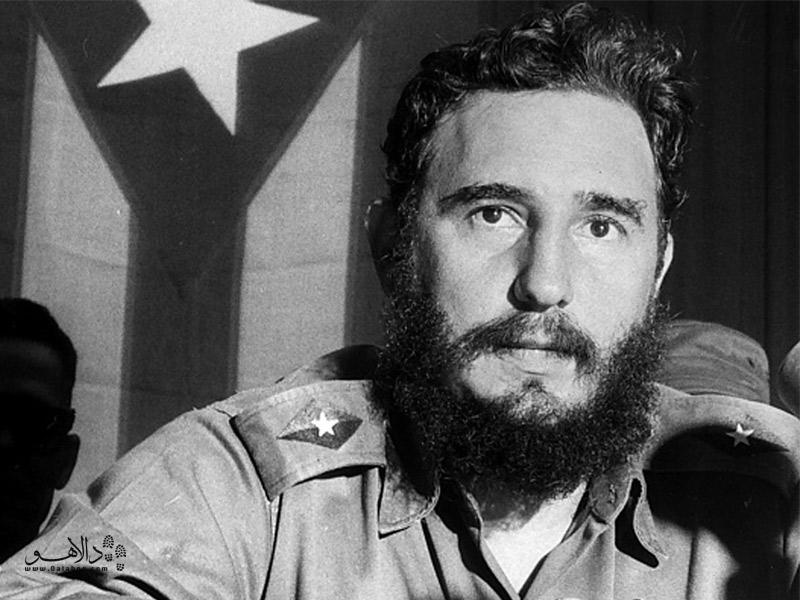 فیدل کاسترو رهبر کوبا