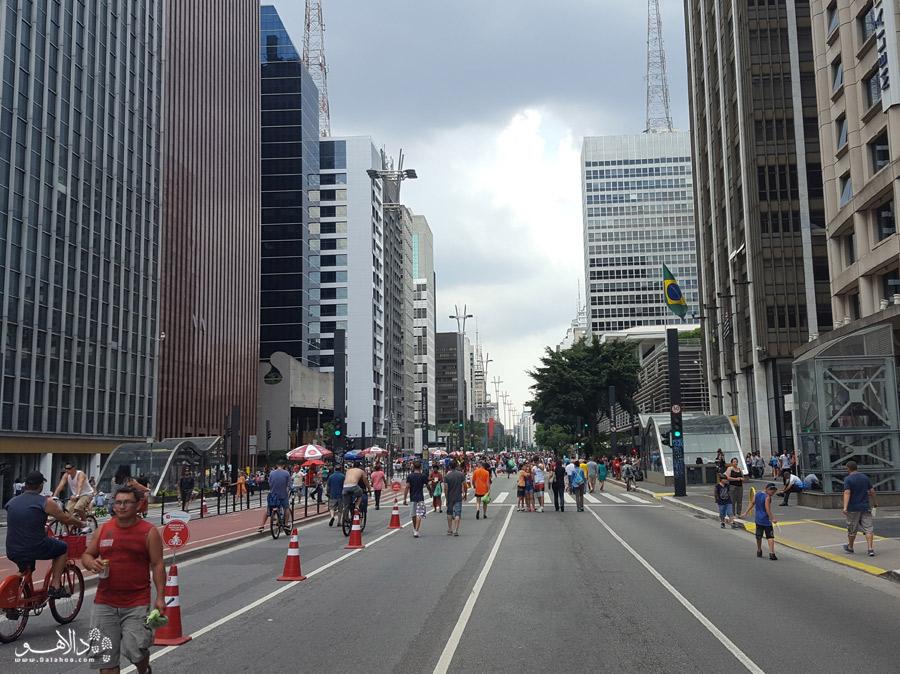 خیابان پائولیستا