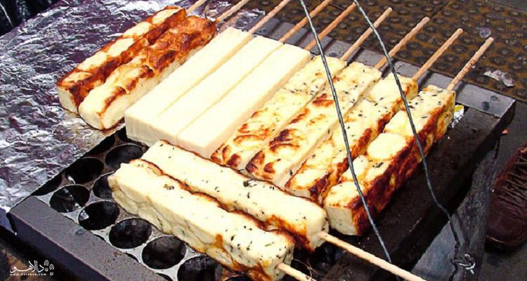 پنیر کبابی شور-ریو