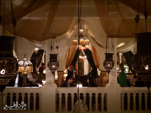 نمایی از طبقه دوم کافه ریک که امیدواریم لذت نوشیدن چای نعناع دراین طبقه را تجربه کنید.