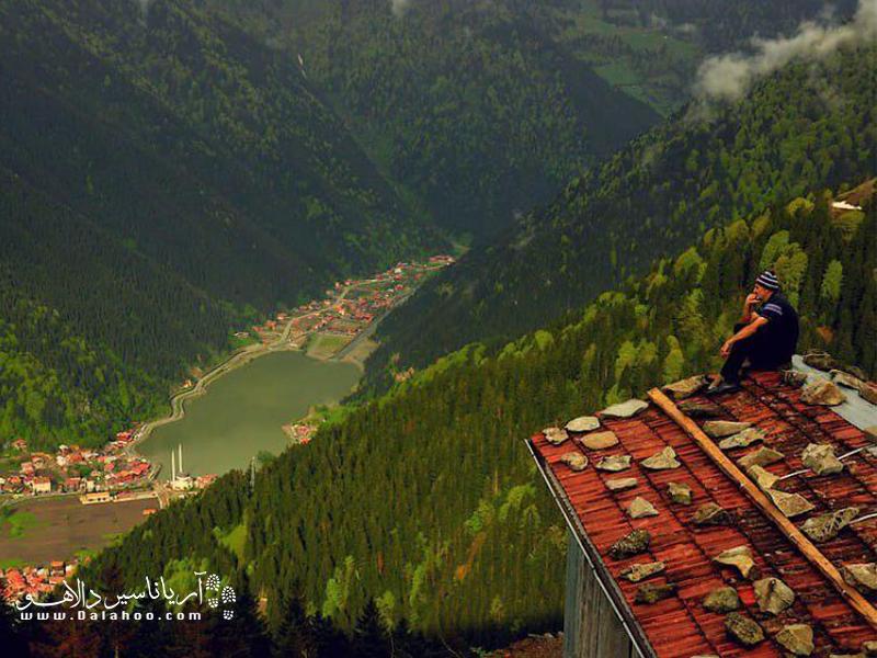 روستای اوزون گل به دلیلطبیعت رویاییاش به سوئیس ترکیه معروف شده است.
